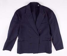 JACK SPADE MENS NAVY BLUE LINEN HAYNES HERRINGBONE BLAZER SPORT COAT SZ: 42 $598