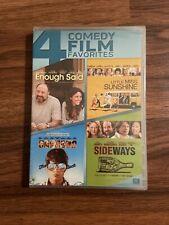 4 Comedy Film Favorites Enough Said, Little Miss Sunshine, Sideways, Way Back