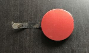 RENAULT MODUS Rear Bumper Towing Hook Eye Cover Cap RED 4.50cm