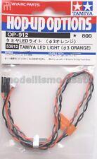 Tamiya 53912 LED Naranja 3mm Naranja Luz LED modelado
