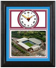 More details for football clock aston villa the villans villa park photo