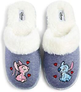 Disney Lilo & Stitch Grey Slippers Women Home Slippers New Gift Pattern 3