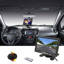 7'' inch TFT LCD Color Screen Car Rear View Camera DVD VCR Monitor For CCTV