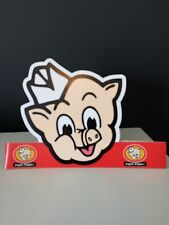 Piggly Wiggly Paper Hat Headband Advertising Grocery Store White Elephant Gift