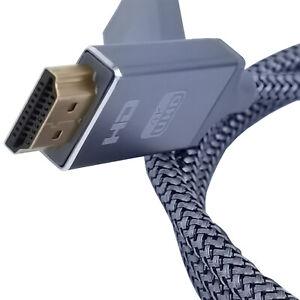 HDMI Kabel 0,9 m 4K-UHD Full HD 1080P TV PC Beamer vergoldet ultimate Speed