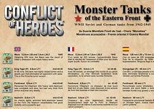 NEW - Conflict of Heroes Monster Tanks of the Eastern Front Expansion Maus Heavy