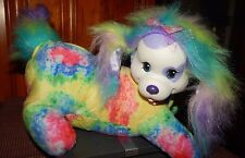"PUPPY SURPRISE Taffy Mommy Dog ONLY TIE DYE Rubber Face 10"" JUST PLAY 2015"