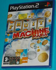 Fruit Machine Mania - Sony Playstation 2 PS2 - PAL New Nuovo Sealed
