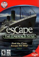 Escape The Emerald Star (PC/MAC-CD, 2011) for Win/Mac - NEW in Small Retail Box