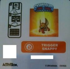 Trigger Snappy Skylanders Trap Team Sticker / Code Only!