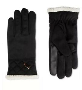 Isotoner Signature Women's smartDRI® Microsuede Touchscreen Gloves Size S/M $42