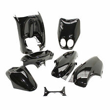 Kit Carrosserie Habillage carenage 7 coques MBK Ovetto YAMAHA Neos Noir AV 2006