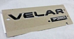 Range Rover Velar L560 OEM Black P380 HSE VELAR Lettering Rear Tailgate New
