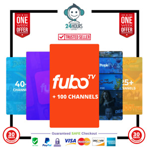 Fubo Live TV & Sports - 100+ Channels 30+ Days