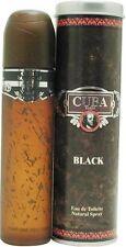 CUBA BLACK * Fragluxe * Cologne for Men * 3.4 oz * BRAND NEW IN BOX