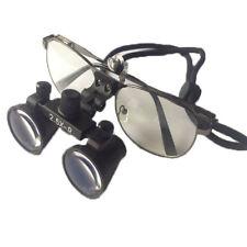 2.5X 3.5X Medical Surgical Loupe Dental Magnifying Glass w/ Metal Eyeglass Frame
