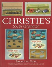 CHRISTIE'S DIECASTS TRAINS TOYS Bassett-Lowke Corgi Dinky Hornby Marklin Cat 00