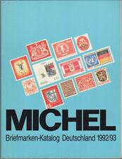 Michel Briefmarken Katalog Deutschland 1992/1993