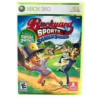 Backyard Sports Sandlot Sluggers (2010) - Microsoft XBox 360 Baseball Video Game