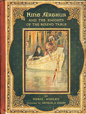 King Arthur & The Knights of the Round Table by Doris Ashley 1922 Raphael Tuck