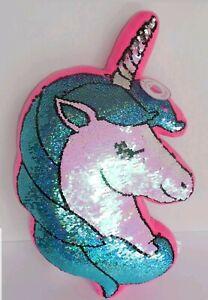 Justice Unicorn Reversible Flip Sequins Pillow