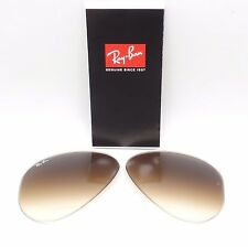 RAY BAN RB REPLACEMENT LENSES AVIATOR 3025 001/51 Brown Gradient New Authentic
