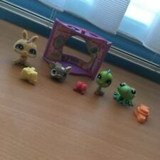 Littlest Pet Shop - Bird, Frog, Mouse, Rabbit + Play Set