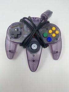 OEM Original Nintendo 64 N64 Atomic Purple Controller Tested