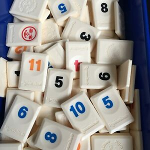 Rummikub Spare Replacement Tiles Numbers Excellent Condition