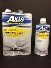 AXIS LIGHTNING URETHANE CLEAR GALLON WITH ACTIVATOR 30 MINUTE DRY TIME FREE SHIP
