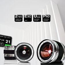 *** Limited: OLYMPUS OM ZUIKO AUTO-W 21 mm f/2.0 Custom || CANON Sony a7 µ4/3