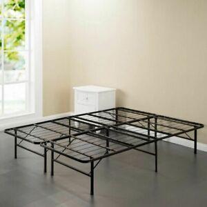 Spa Sensations Smart Base Steel Bed Frame - Black, Full Size