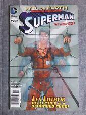 Superman 15 DC Comics NEW 52 NEWSSTAND VF
