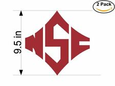 Ncsu Wolfpack 2 Stickers 9.5 inches Sticker Decal