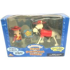 Dudley Do-Right And Horse Action Figures The Adventures Of Rocky And Bullwinkle