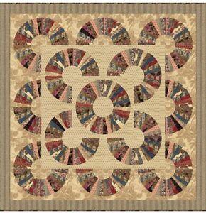 Laundry Basket Quilts Pumpkin Pie Prints Quilt Kit Moda Fabrics KIT 42280