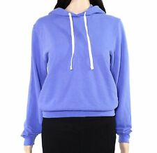 American Apparel Women Hoodie Periwinkle Blue Size Medium M French Terry $46 062