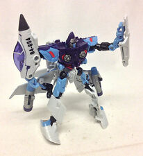 "Transformers Movie HTD JETBLADE jet to 6"" robot figure RARE & NICE!"