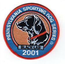 "2001 Pa Game Comm Pennsylvania Sporting Dog Series 4"" Patch Of Black Lab Orginal"