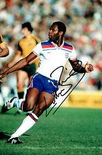 Luther BLISSETT SIGNED Autograph 12x8 Photo England v Australia Tour AFTAL COA