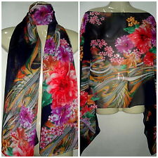 4# New Floral Kaftan Tunic Dress Wing Blouses Scarf Beach Cover Up Swimsuit