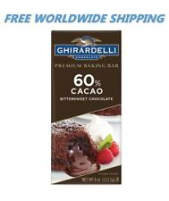 Ghirardelli Premium Baking Bar 60% Cacao Bittersweet Chocolate WORLD SHIP