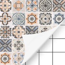 Fliesenaufkleber Mosaikfliesen Deko Folie Tapeten selbstklebende für Bad Küche