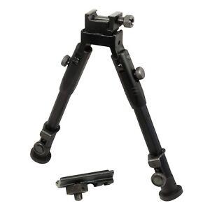 "9"" CCOP Badger Tactical Hunting Bipod Picatinny Swivel Stud Mount 59S"