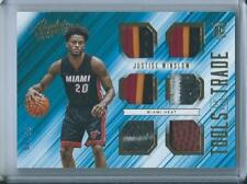 2015-16 Panini Absolute #10 Justise Winslow Miami Heat Rookie Basketball /49