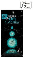 30x DOWNY Un Stopables FRESH Scent Booster Single 1 Load Travel Size Unstopables