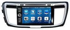 In Dash 2 Din Car Stereo BT Radio DVD Player GPS Navigation For Honda Accord 9th