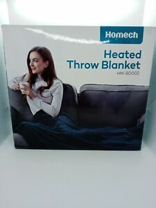 "Homech Heated Blanket, 72"" x 84"" Full Size Electric Throw"