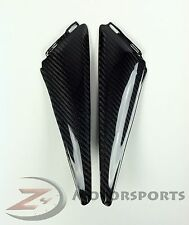 2008-2011 CBR1000RR Side Driver Seat Trim Cover Panel Fairing Cowl Carbon Fiber