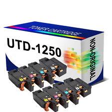 2 Set Remanfactured Toner Cartridge 1250 For Dell 1250c 1350cnw 1355cn 1355cnw